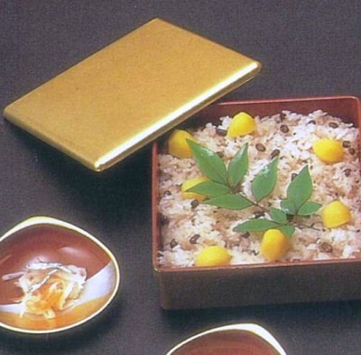 Chestnut and rice