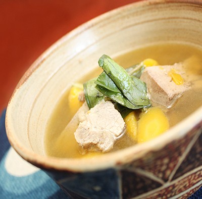 チムシンジ (豚レバーの汁物)