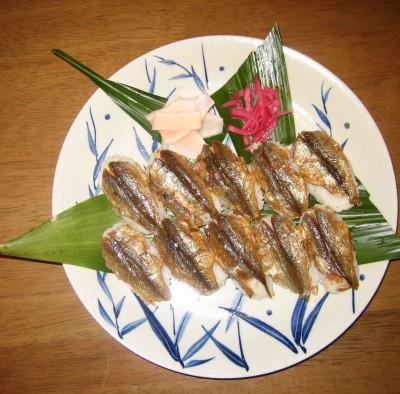 じゃこ寿司