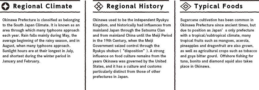 Okinawaの特徴