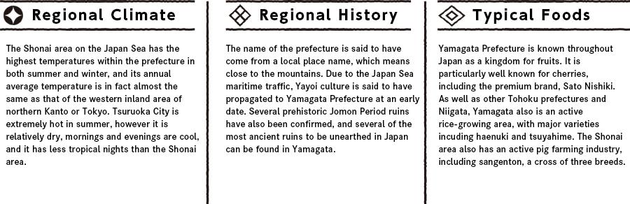 Yamagataの特徴