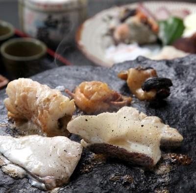 Ishi-yaki cuisine