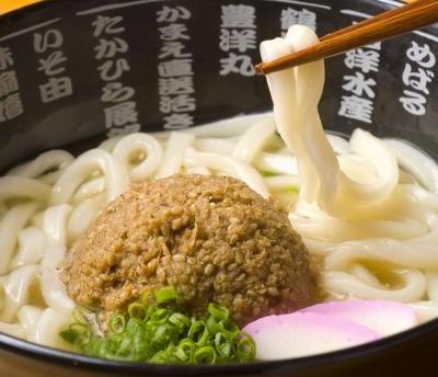 Gomadashi udon