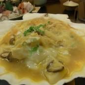 ホタテ貝焼き味噌