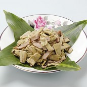 Fried Itadori (Japanese knotweed)