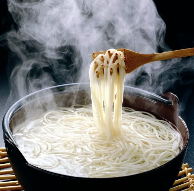 The Goshima islands udon hot pot from hell