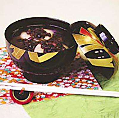 Azuki soup zoni