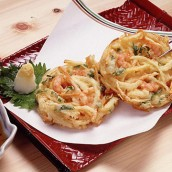 京野菜の天ぷら