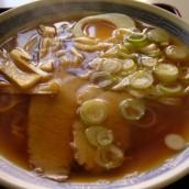 煮干しダシの醤油ラーメン