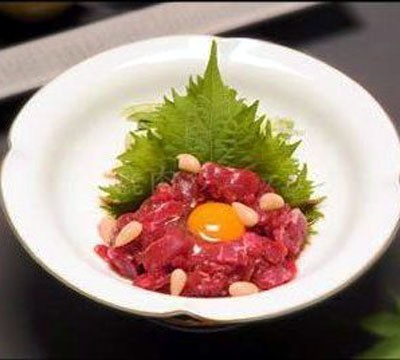 Deer Meat Yukhoe