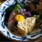 Kyoyuba sashimi