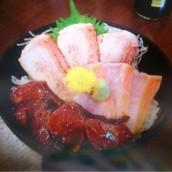 小田原とろ金目鯛の三宝丼