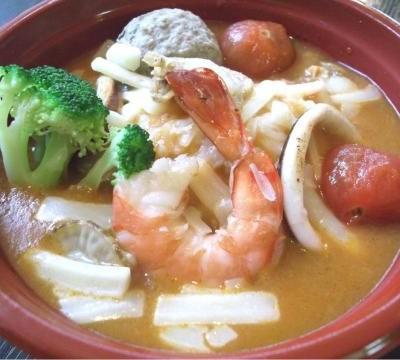 Builabaisse rice bowl