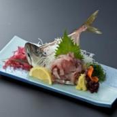 Horse mackerel dish