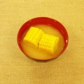 とうもろこしの味噌汁