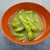 枝豆の味噌汁