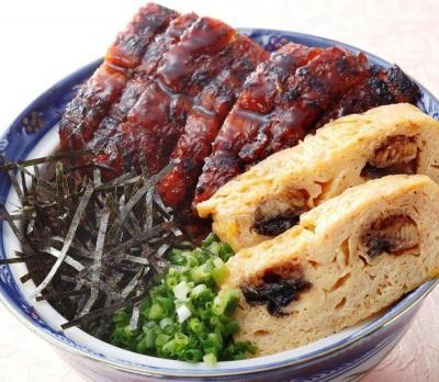 三河一色うなぎの豪華丼