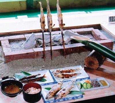 Ayu ryori (cuisine)