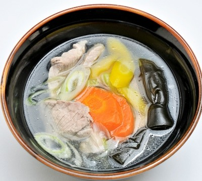 Pork clear soup