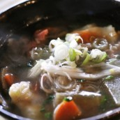 Dago Dumpling Soup