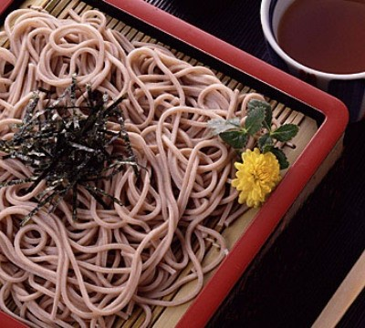 The soba noodles of south Aso.