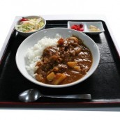 Curry Rice with Pear