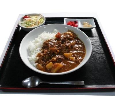 梨入りカレ−ライス