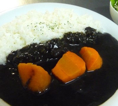 Sweet and spicy! black curry