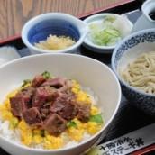 Tokachi Shimizu Gyu-tama Steak Don