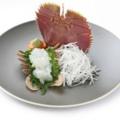 Japanese Fan Lobster Sashimi