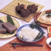 Raw Konjak cuisines
